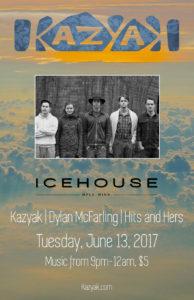 Kazyak Icehouse Minneapolis Minnesota Dylan McFarling Poster